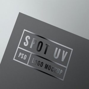 Spot UV.
