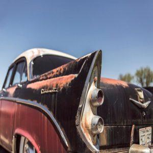 Photo d'une voiture de collection.